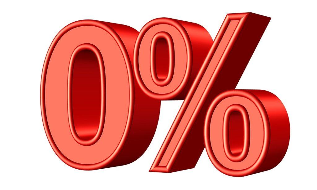 0% i rente er en realitet